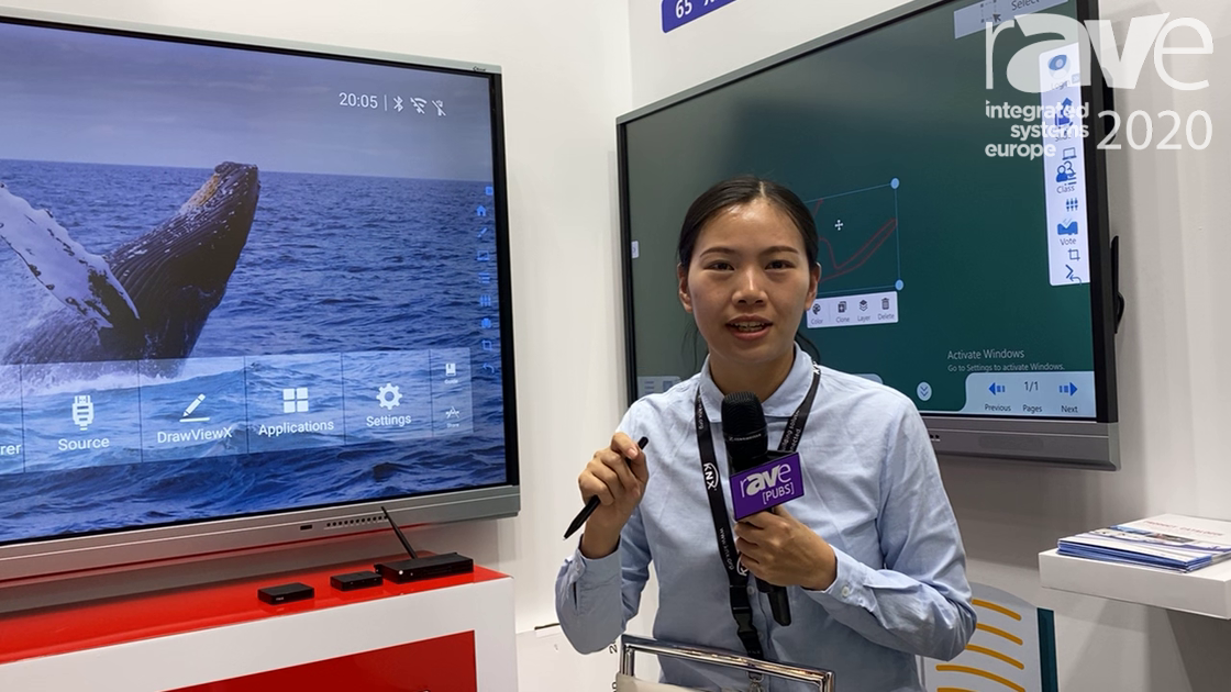 ISE 2020: iBoard Features 86″ XP2 Series Touch Screen Monitor