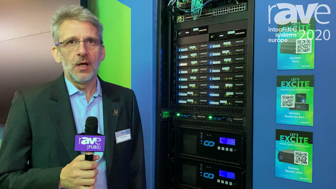 ISE 2020: Christie Showcases the Christie Terra SDVoE AV-over-IP 4K Solution