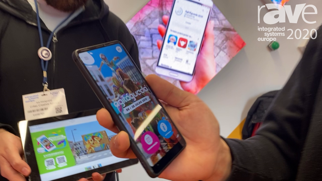 ISE 2020: Critec Showcases the ReflecTOUR Event App With Integrated Augmented Reality