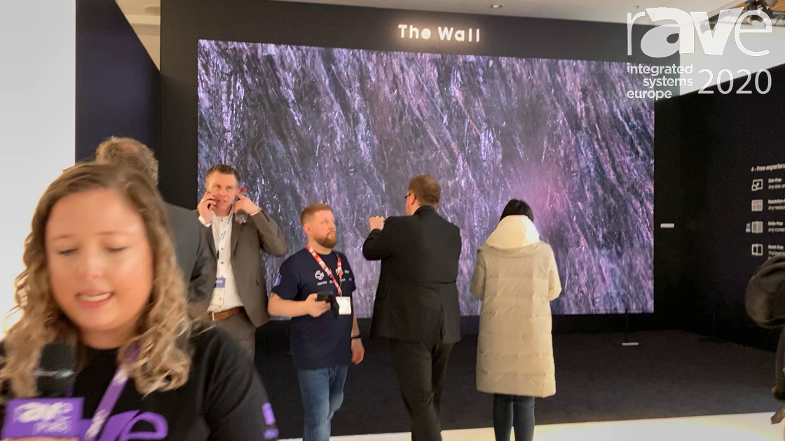 ISE 2020: Samsung Expands The Wall Series and Introduces The Wall for Business