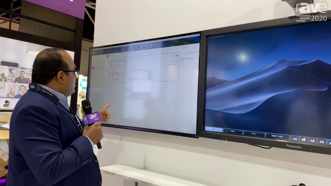 ISE 2020: ClearOne Showcases the COLLABORATE Space BYOD Video Collaboration Platform