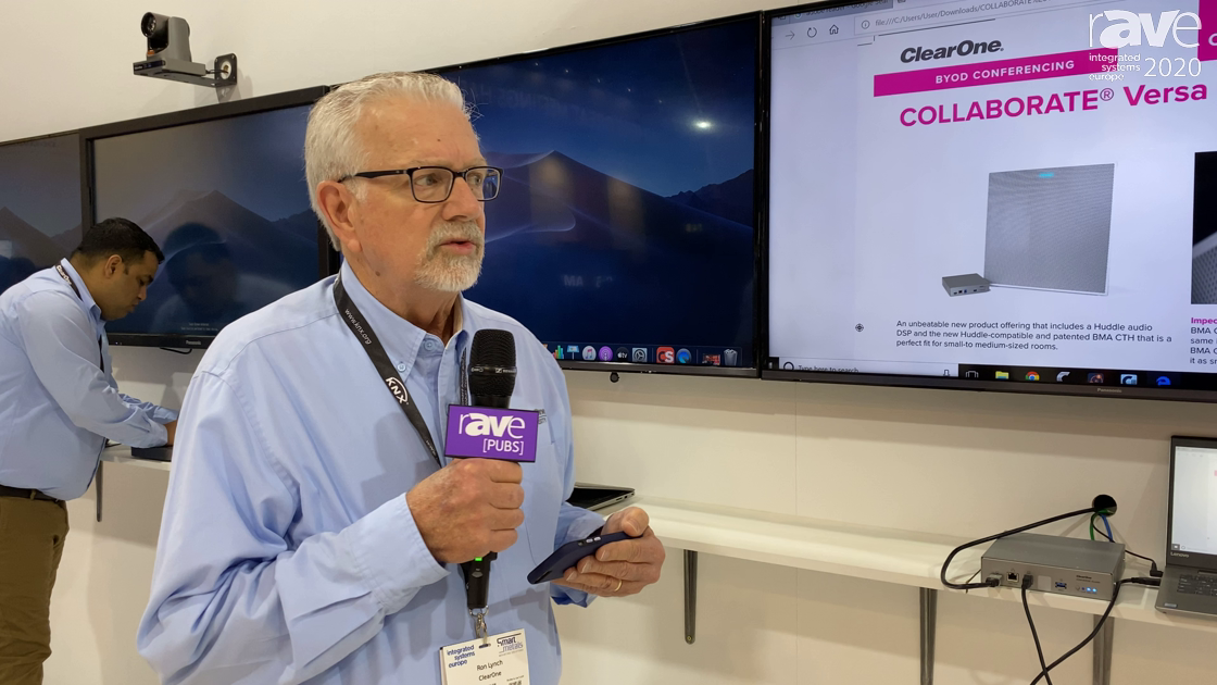 ISE 2020: ClearOne Features the COLLABORATE Versa Pro CT Offering That Includes a Huddle Room DSP