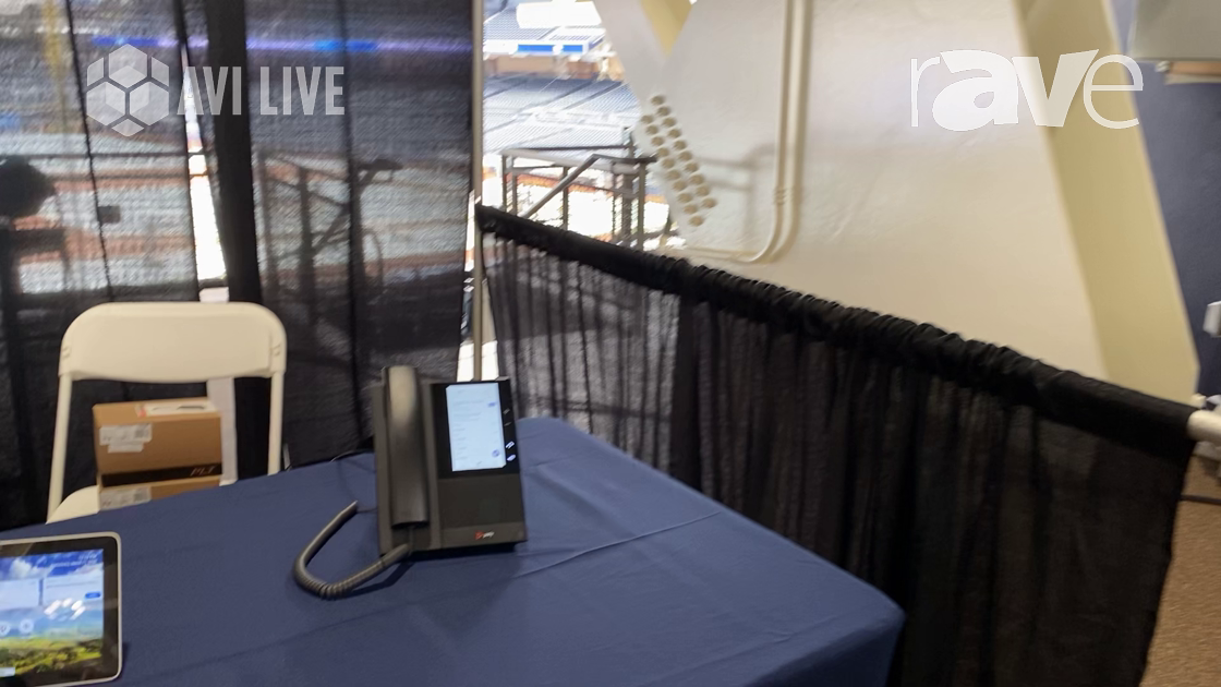 AVI LIVE: Poly Shows Off CCX 500 Series Phone Certified for Microsoft Teams