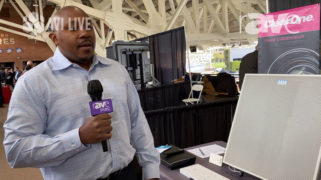 AVI LIVE: ClearOne Displays Versa Pro CT BYOD Device, Versa Lite CT USB Beamforming Ceiling Tile Mic