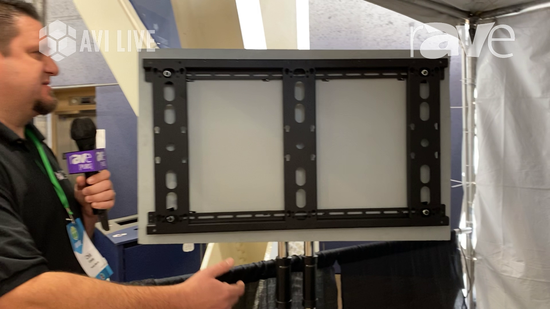 AVI LIVE: Premier Mounts Showcases Symmetry Series Interface Bar for Displays