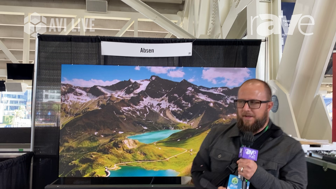 AVI LIVE: Absen Shows Off Its 1.5mm Acclaim Plus LED Series Indoor Video Wall Display