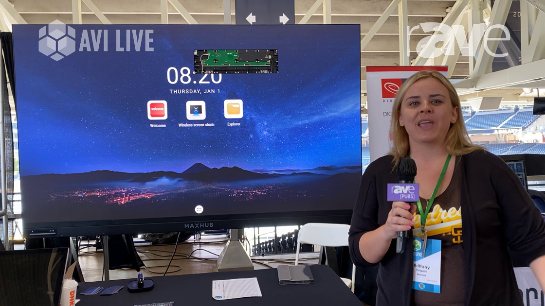 AVI LIVE: HD Distributing Presents MAXHUB All-in-One 120″ Integrated Direct View LED Display