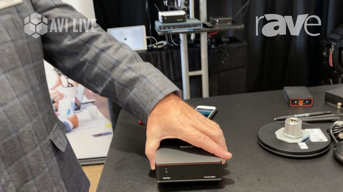 AVI LIVE: Biamp Showcases Crowd Mics Appliance, an App-Based Replacement for Wireless Mics