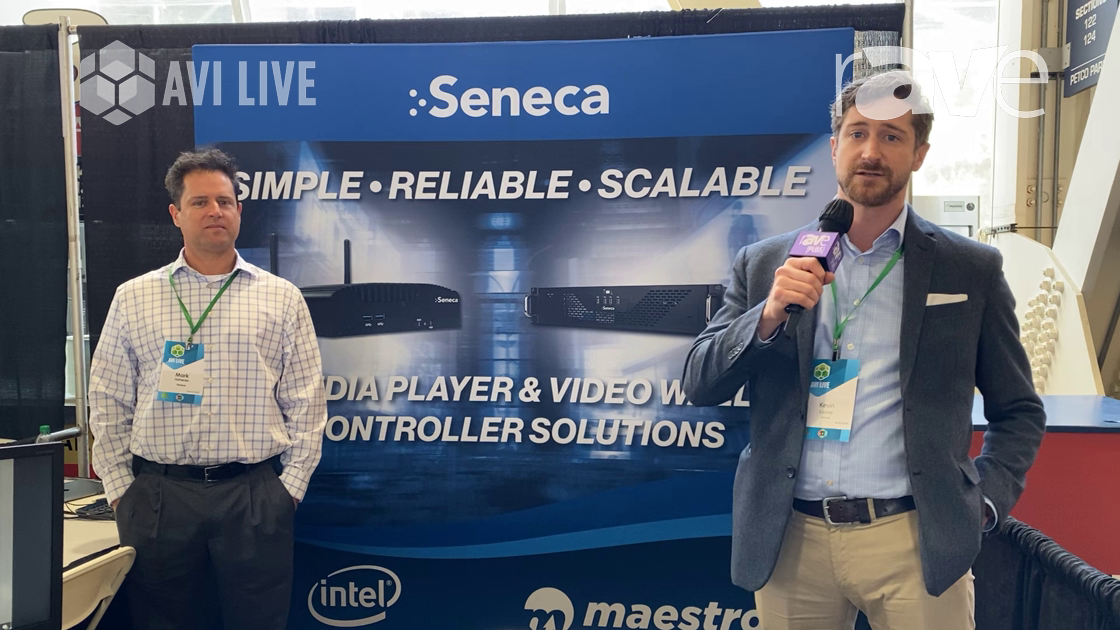 AVI LIVE: Seneca Digital Signage Shows Off Its HDN Media Player