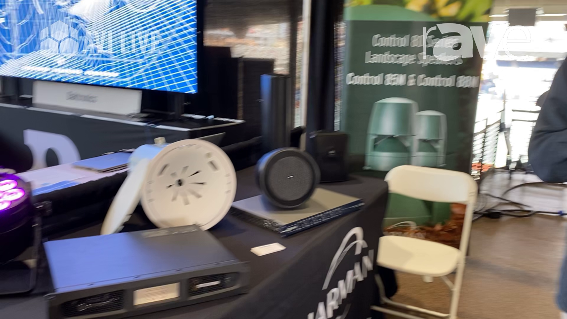 AVI LIVE: Harman Shows a Range of Products for Audio, Video and Control