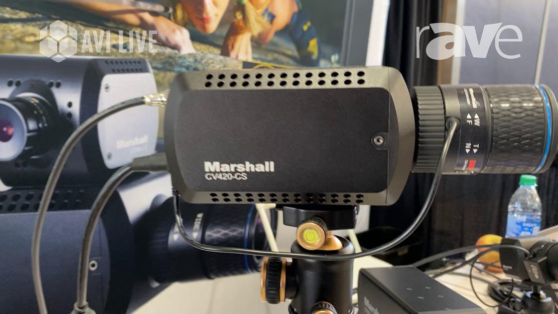 AVI LIVE: Marshall Electronics Presents CV420-CS 12.4MP Compact 4K60 Camera
