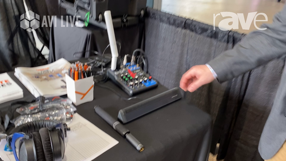 AVI LIVE: beyerdynamic Explains the Revoluto Array Microphone