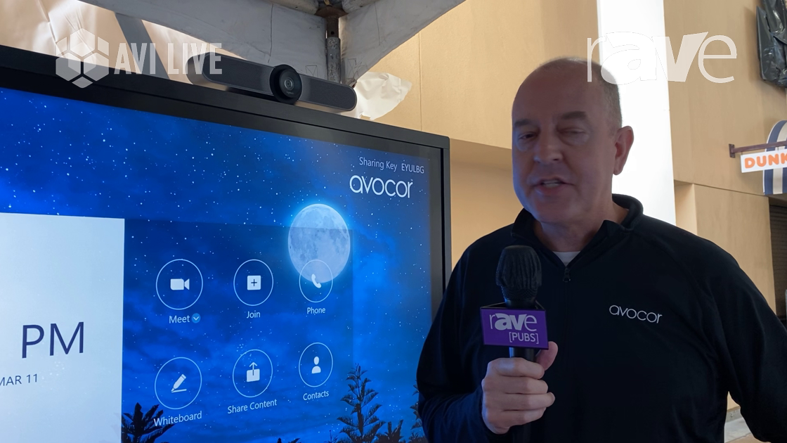 AVI LIVE: Avocor Demos ALZ Series, Which Is an All-in-One Zoom Room Display Solution With Touch