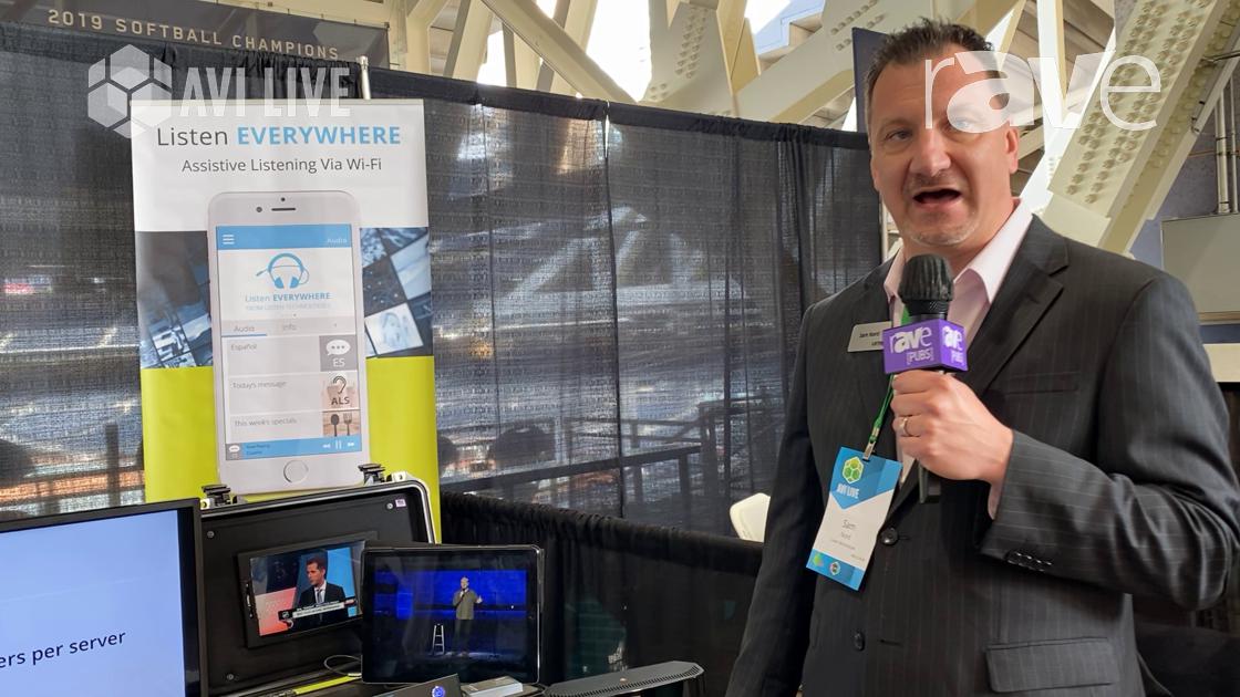 AVI LIVE: Listen Technologies Shows Listen EVERYWHERE Audio-Through-Wi-Fi Assistive Listening Option