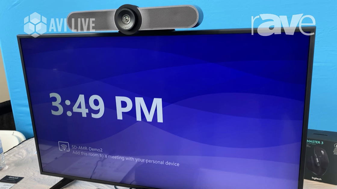 AVI LIVE: Logitech Explains Tap, a Touch Control Panel for the Workplace and Huddle Spaces