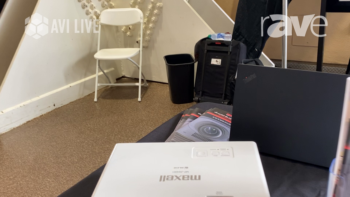 AVI LIVE: MaxellProAV Features MP-JW4001 3LCD Laser Projector