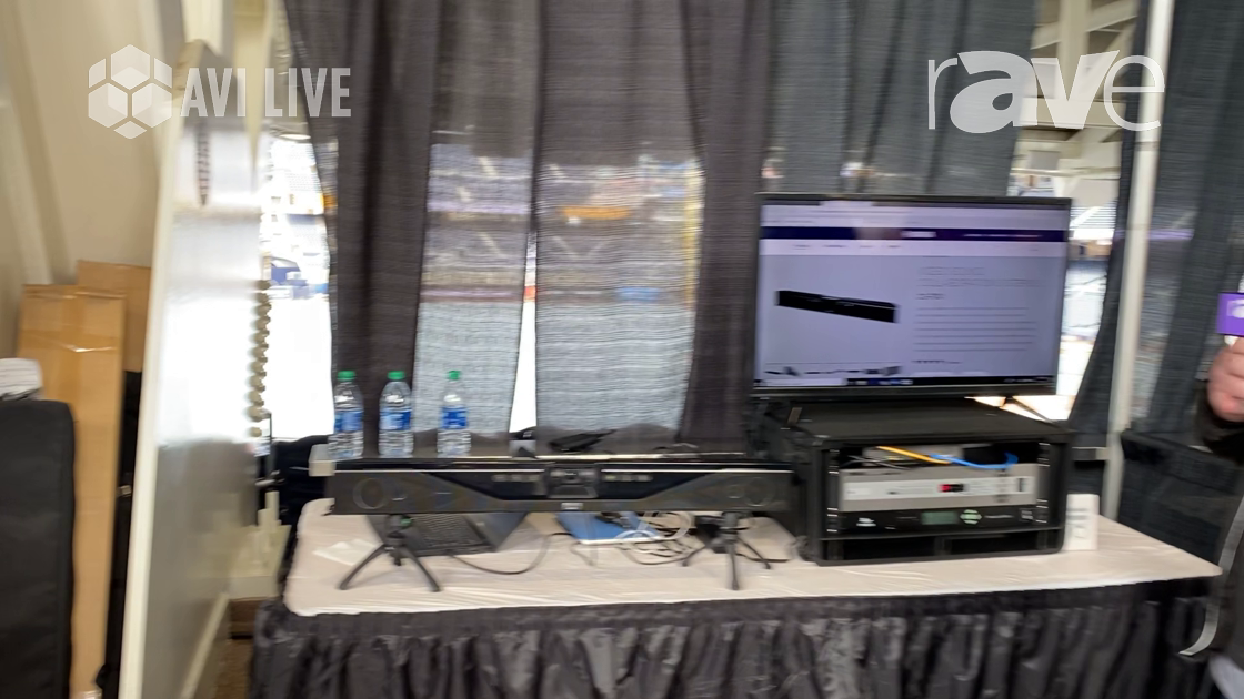 AVI LIVE: Yamaha Unified Communications Demos CS-700 Video Sound Collaboration System