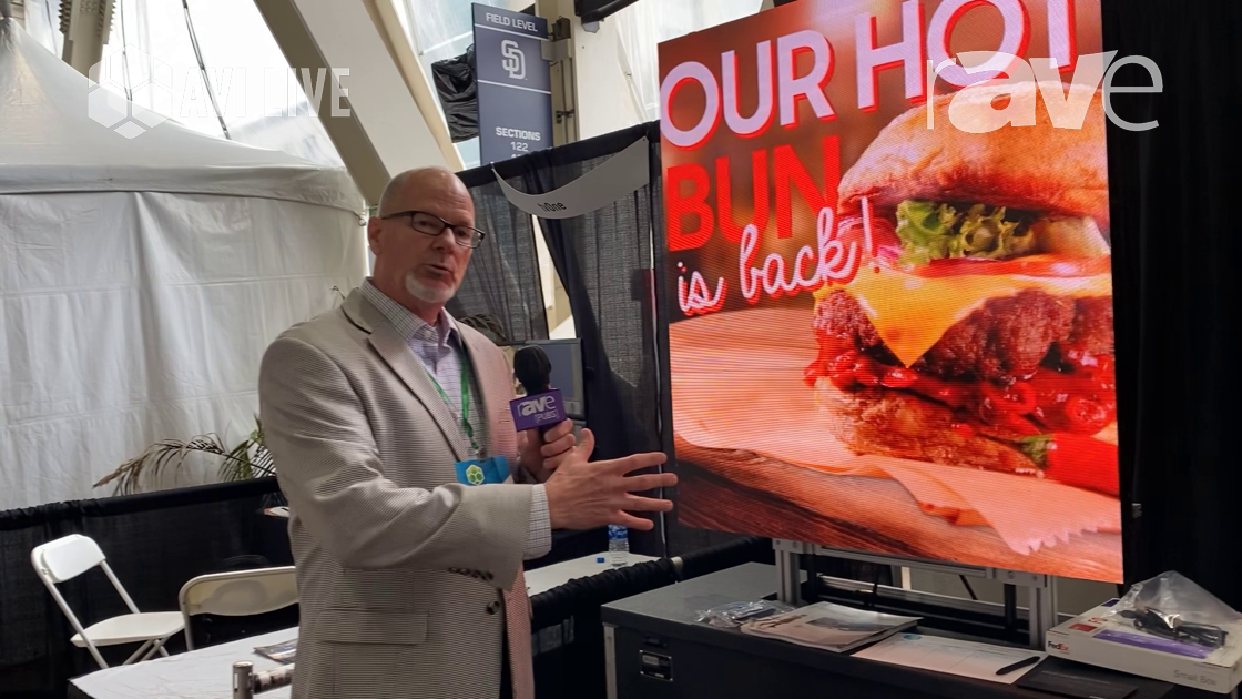 AVI LIVE: Samsung Talks Indoor and Outdoor Direct View LED Displays, Including .8mm Micro-LED