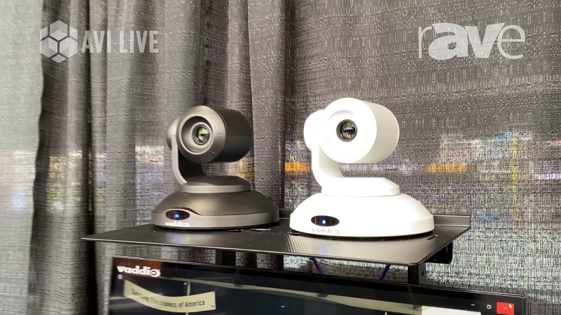 AVI LIVE: Vaddio Showcases EasyIP 10 Camera, an AV-Over-IP Solution for Videoconferencing