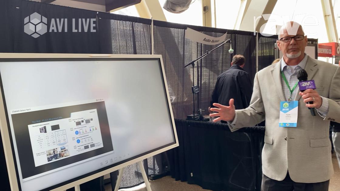 AVI LIVE: Samsung Highlights Flip 55″ Digital Flipchart for Business Applications
