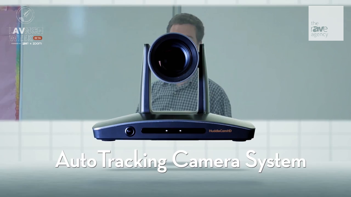 LAVNCH WEEK: HuddleCamHD Features the SimplTrack 2 Auto Tracking Camera