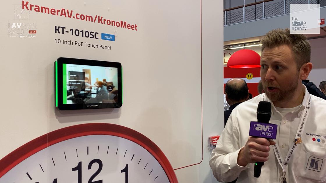 LAVNCH WEEK: Kramer Intros KronoMeet Enterprise Room Management and Scheduling Solution