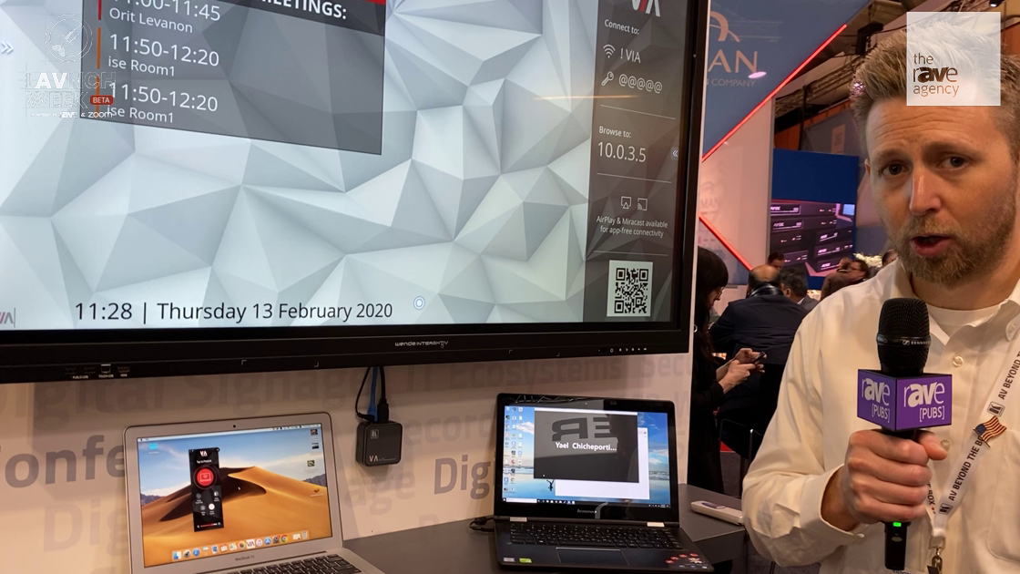LAVNCH WEEK: Kramer Shows Second Generation of VIA, Adding Miracast, Upgraded UI, More Processing