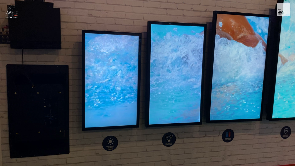 LAVNCH WEEK: Peerless-AV Highlights Its IP68, 2500-Nit XHB Xtreme Outdoor Displays, Now in 65-Inch