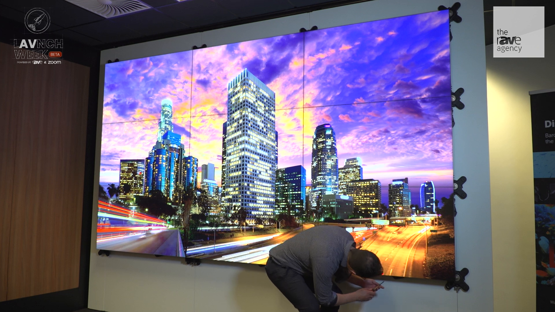 LAVNCH WEEK: Barco Demos Display Panel Replacement and Calibration in Unisee Video Wall System