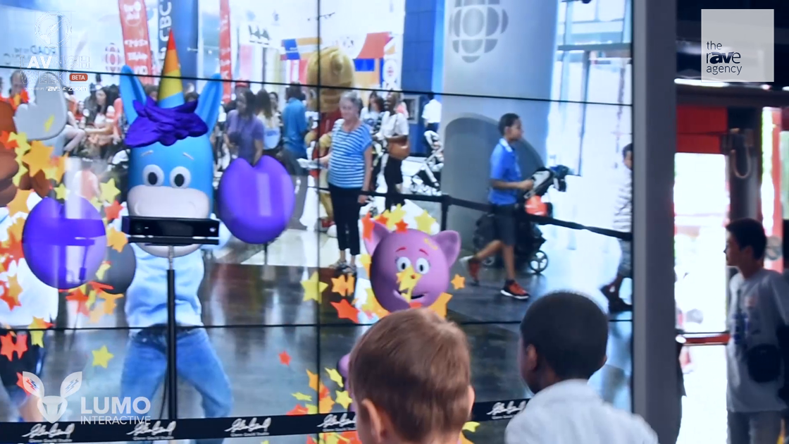 LAVNCH WEEK: Lumo Shows Off LUMOplay AR Display at CBC Kids Days
