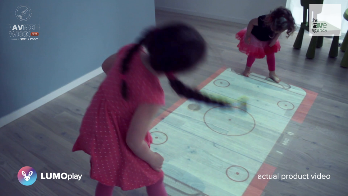 LAVNCH WEEK: Lumo Spotlights its LUMOplay Home Kit Interactive Floor Game System