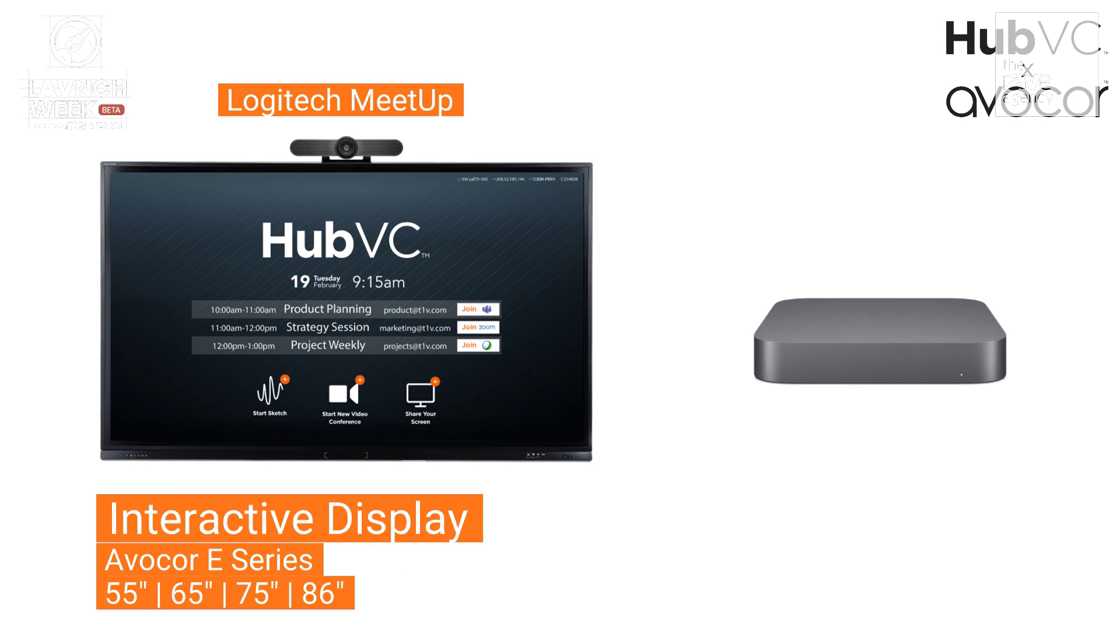 LAVNCH WEEK: HubVC x Avocor Present Touch Solution for Collaboration + Huddle Spaces