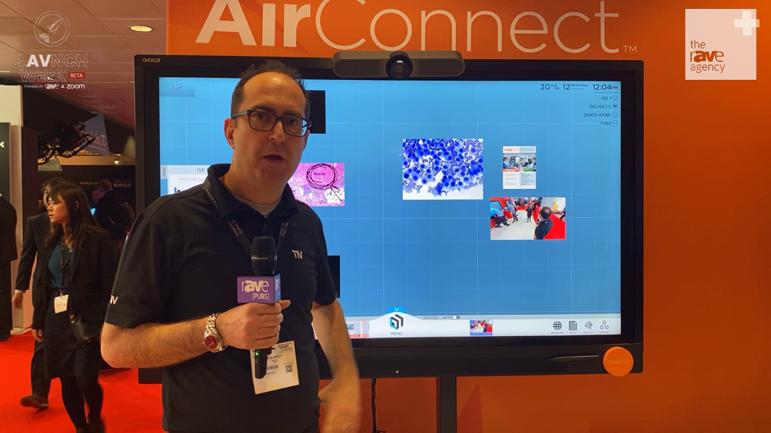 LAVNCH WEEK: T1V Demonstrates How ThinkHub MultiSite Improves Realtime Collaboration
