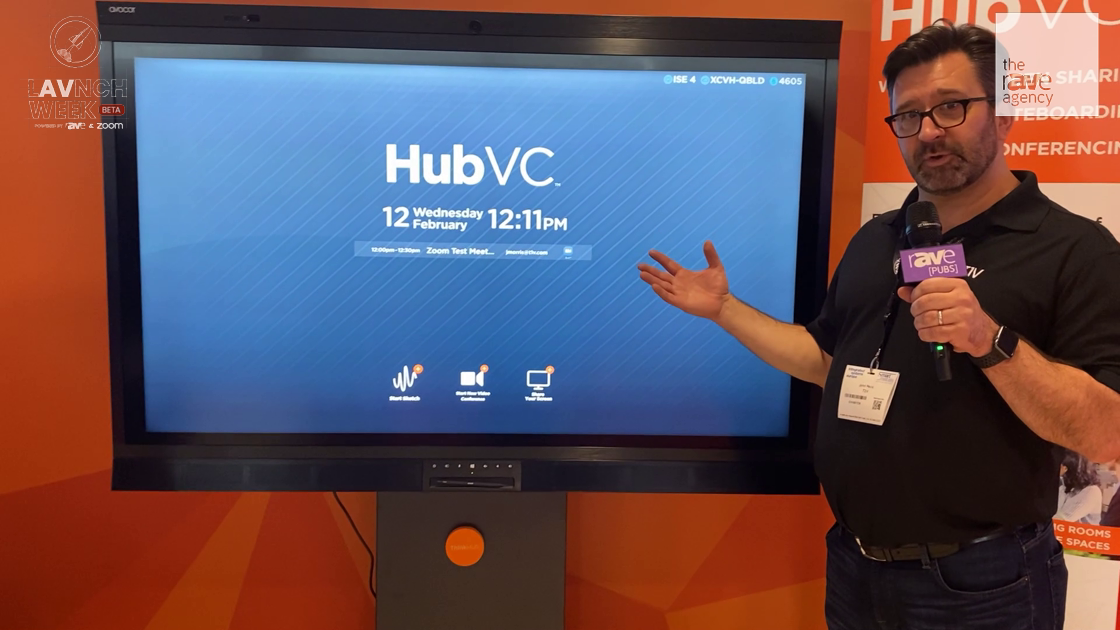 LAVNCH WEEK: T1V Shows How Its HubVC Makes Enhanced Video Conferencing Simple