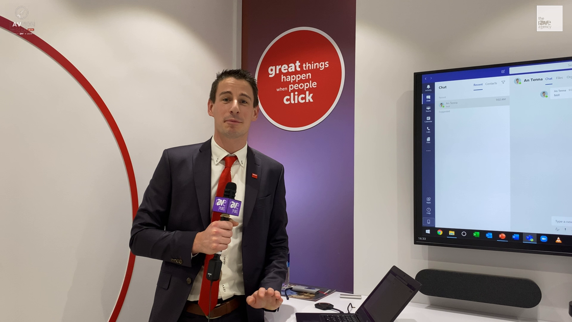LAVNCH WEEK: Barco Unveils the CX-50 ClickShare Conference, Demos With Logitech Rally Plus for BYOM