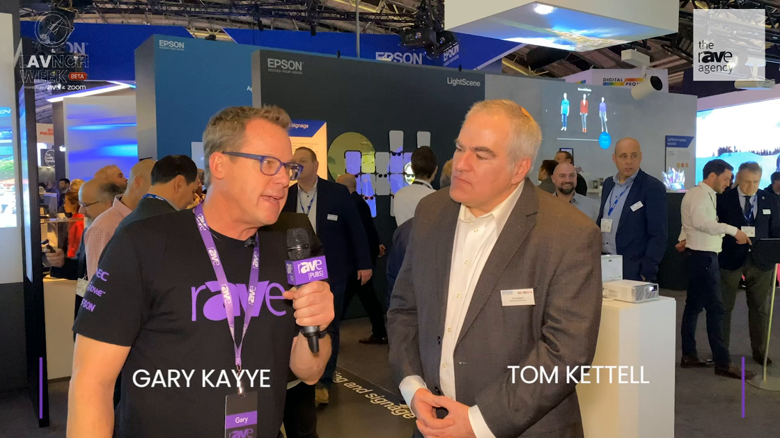 LAVNCH WEEK: Tom Kettell of Epson Explains The Strategy Behind ISE Booth