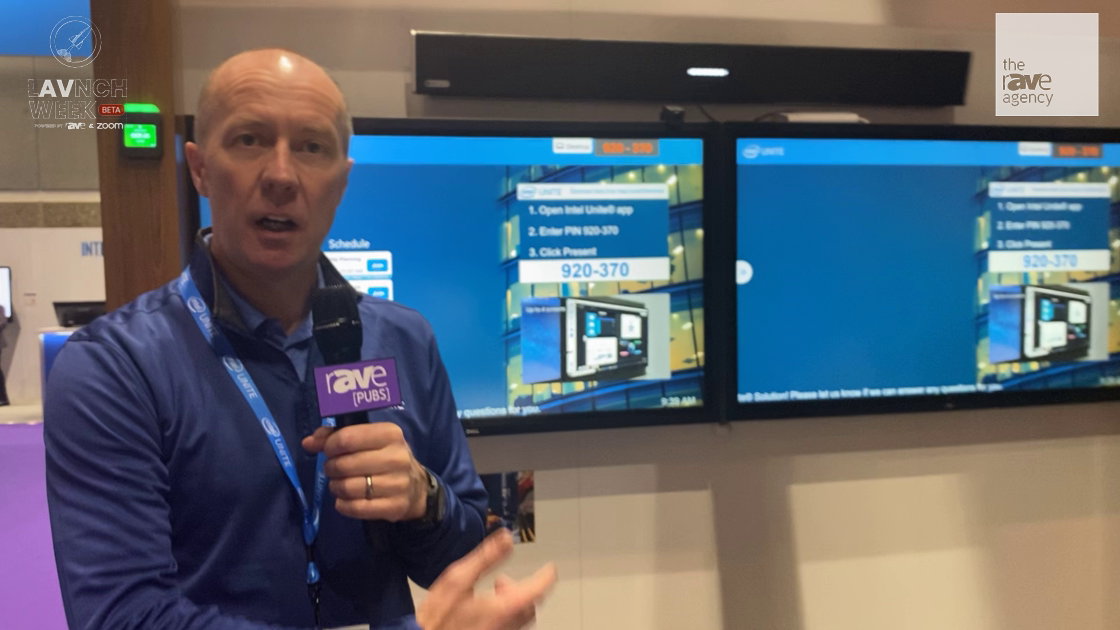 LAVNCH WEEK:  Intel Unite Demos How It Works in the Modern Collaborative Office