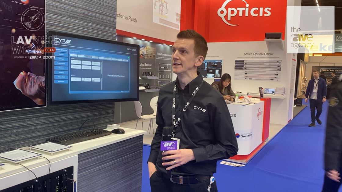 LAVNCH WEEK: CYP Talks About Its SDVOE 10Gig AV-Over-IP System With Multiview