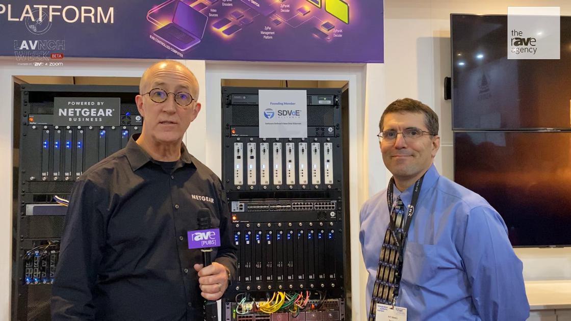 LAVNCH WEEK: ZeeVee Offers Plug-in Module for NETGEAR M4300-96X Switch