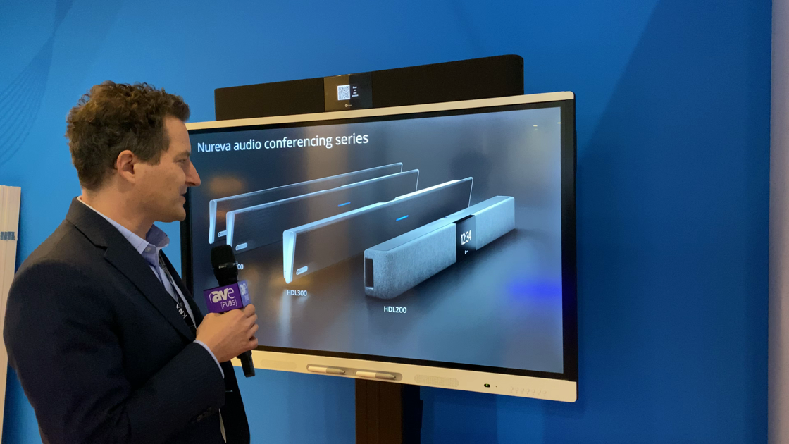 LAVNCH WEEK: Nureva Launches HDL200 Audio Conferencing System, Designed for Smaller Meeting Rooms