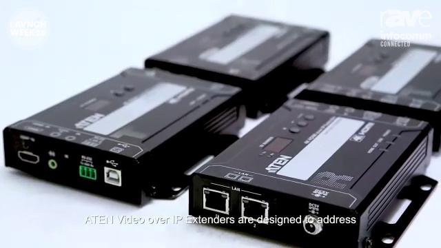 InfoComm 2020: ATEN Showcases VE8950 and VE8900 Full HDMI over IP Extender
