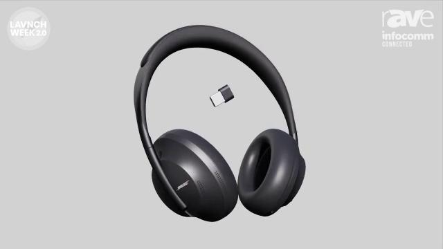 InfoComm 2020: Bose Professional Details Noise Canceling Headphones 700 UC