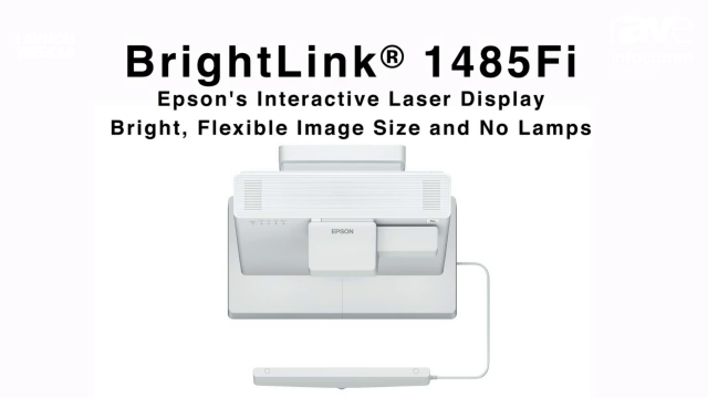 InfoComm 2020: Epson Details BrightLink Laser Displays for Education