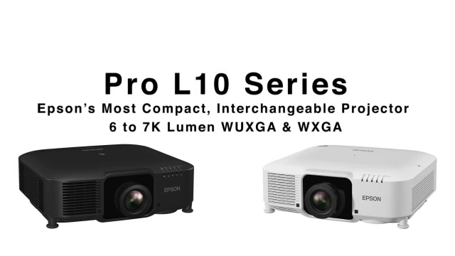InfoComm 2020: Epson Features Pro L Projectors with 6 to 15K Lumens