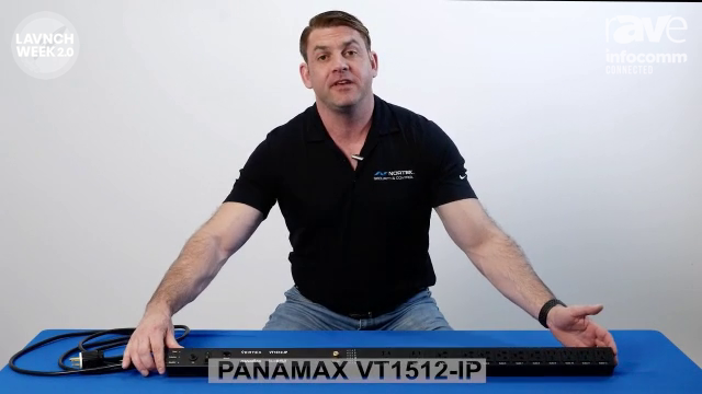 InfoComm 2020: Furman Introduces Panamax VT1512-IP 15 Amp Vertical Power Management Device