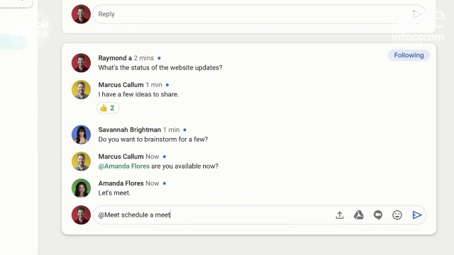InfoComm 2020: Google Demos Google Meet in G Suite