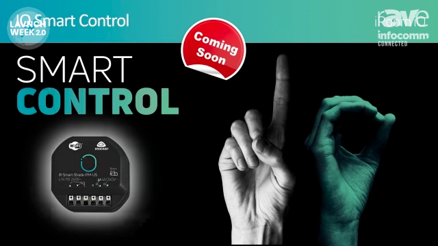 InfoComm 2020: iRoom Introduces Smart Control