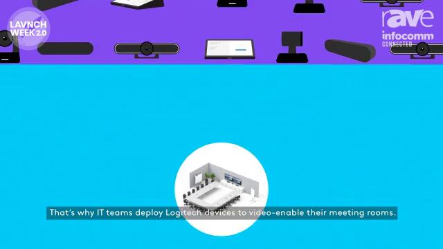 InfoComm 2020: Logitech Promotes Sync Modern Meeting Room Device Management