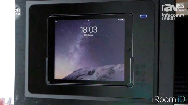 InfoComm 2020: iRoom Highlights TouchDock iPad Docking Station