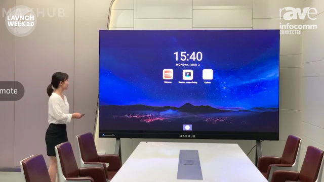 InfoComm 2020: MAXHUB Demos All-in-One LED Display Solution